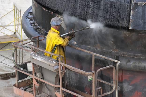 سندبلاست در صنایع نفت و پتروشیمی 4