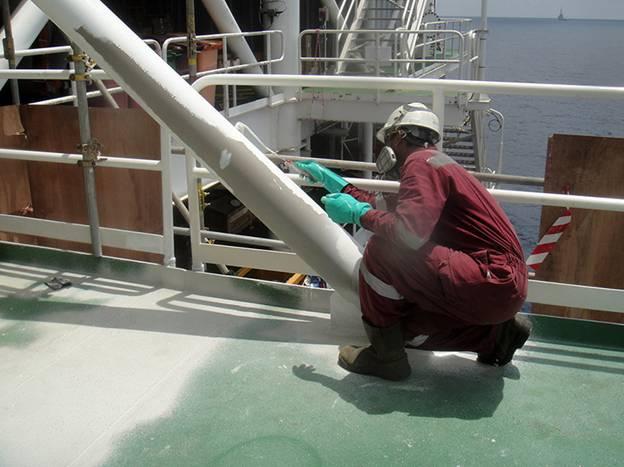 سندبلاست در صنایع نفت و پتروشیمی 8